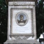 Tomba di Gaetano Gattinelli al cimitero del Verano a Roma