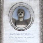 Tomba di Gaetano Gattinelli al Verano di Roma