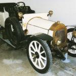 (1) La Licorne. Cilindrata 2000cc, nno 1910, quattro cilindri, Francia. Lubrificazione a mano, avviamento a manovella, illuminazione acetilene.