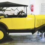(2) Citroën 5cv Bateaux. Cilindrata 855cc, anno 1923, quattro cilindri, Francia. Numero posti 3, sfalsati.