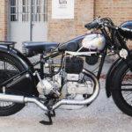 (7) Gilera VL. Cilindrata 500cc, anno 1935, monocilindro, Italia.