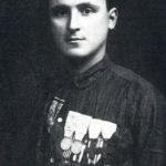 Vittorio Zanzi con la camicia da garibaldino