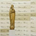 Cripta: Madonna col Bambino tra i Caduti della guerra 1915-18