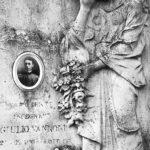 Tomba di Giulio Vannoni nel cimitero di Bagnacavallo