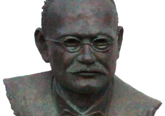 Busto di Bartolomeo Pirani presso la Casa Comunale di Lavezzola