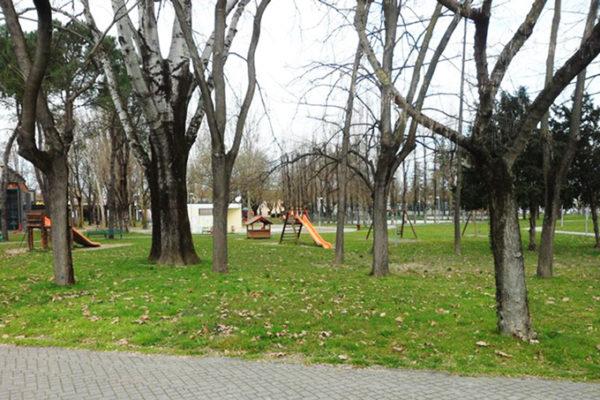 Lugo, Parco del Tondo, Viale degli Orsini