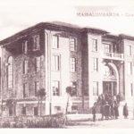 Cartolina raffigurante la Casa del Popolo nel 1916.