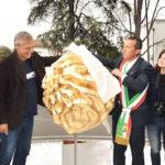 L'inaugurazione della rotatoria di viale Zaganelli, 27 aprile 2017