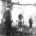 Impiccagione di partigiani.