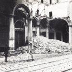 L'Hotel Baglioni crollato