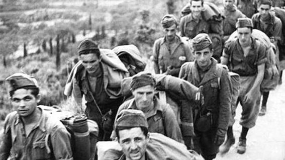 Soldati italiani fatti prigionieri dai tedeschi dopo l'8 settembre 1943