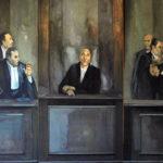 """Luciano Caldari, trittico """"Il potere"""", 1978"""