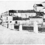 Vista dal ponte di San Bernardino in epoca antecedente la distruzione da parte dei tedeschi.
