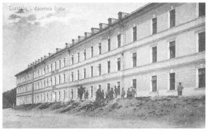 Tarvisio, Caserma Italia.