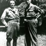Mario Lizzero con un altro comandante partigiano
