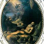 Ignaz Stern, La morte di Sant'Onofrio.