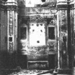 Presbiterio, danni subiti durante la seconda guerra mondiale.
