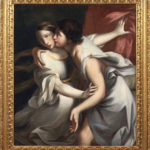 Ignazi Stern, Ammon e Tamar, lio su tela, cm. 110x100