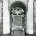 Altare destro dopo il restauro.