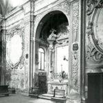 Altare destro prima del restauro