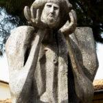 Figliol prodigo (1958), lega metallica. Castel Bolognese, Piazzale Giuseppe Garibaldi