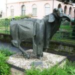 Piazzale Umberto Brunelli - Montone (1972), bronzo