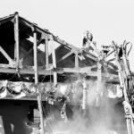 La demolizione del Politeama, anno 1990.