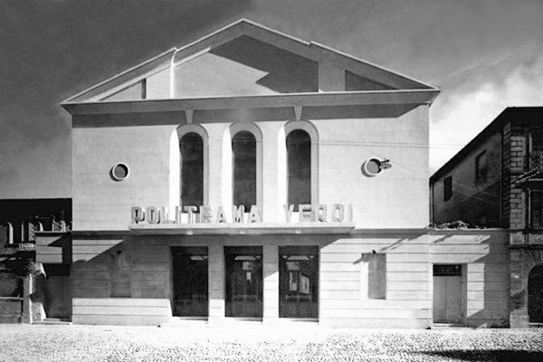 Il Politeama Verdi è pronto per l'inaugurazione, anno 1933.