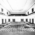 L'interno del Politeama, anno 1933.